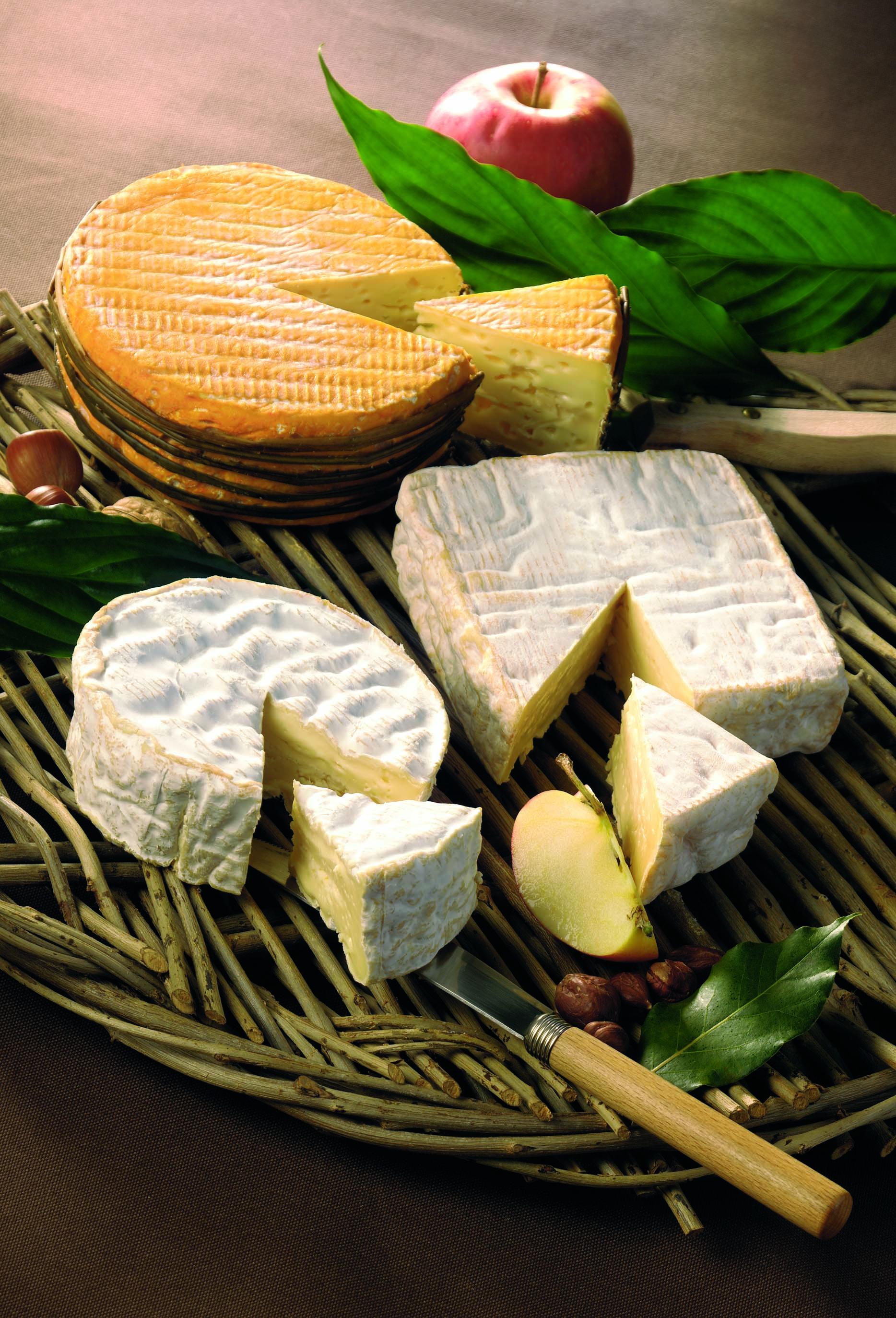 fromages de Normandie